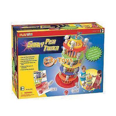 ของเล่นเสริมพัฒนาการ หอเอนปิซ่าล้มฝึกสมองตัวจิ๋ว Playgo 9040