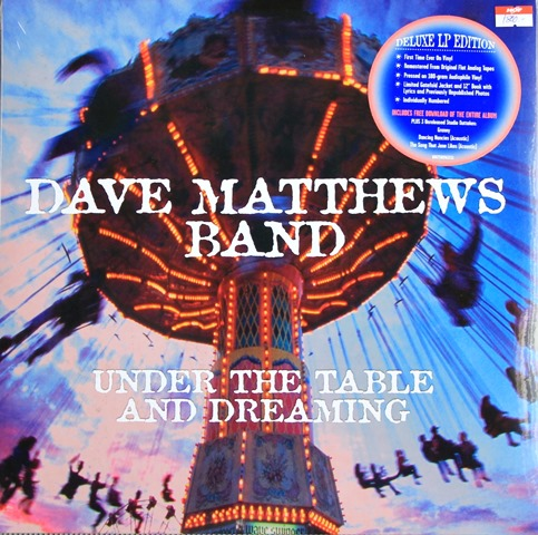Dave Matthews Band - Under The Table And Dreaming 2lp N.