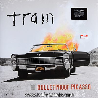 Train - Bulletproof Picasso 1lp N.
