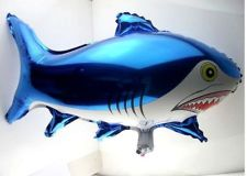 Shark Shape Balloon - ลายปลาฉลาม / Item No. TL-B003