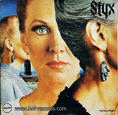 Styx - Pieces Of Eight 1978 1lp