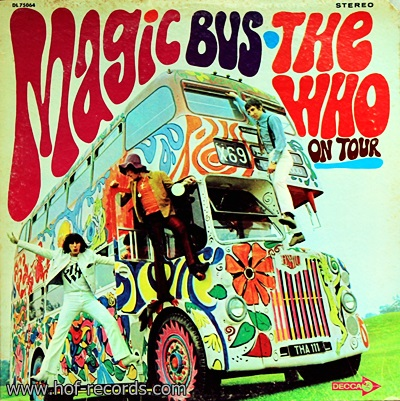 The Who - Magic Bus On Tour 1Lp