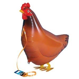 Chicken Walking Balloons - ไก่บอลลูน / Item No. TL-K010