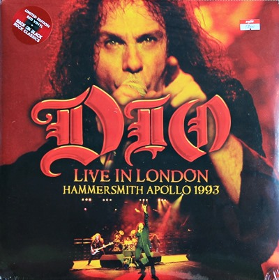 DIO - Live In London Hammersmith Apollo 1993 2Lp N.