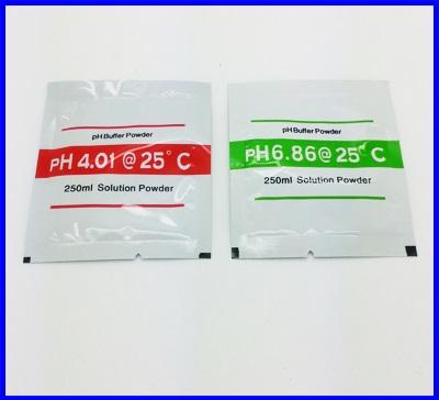 ผงสำหรับละลายน้ำเตรียม calibration buffer PH 6.86 และPH 4.00 สำหรับเครื่องวัด pH