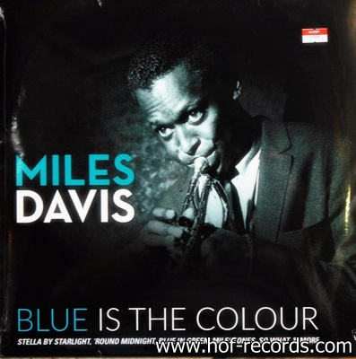 Miles Davis - Blue Is The Colour 1Lp N.