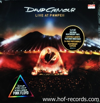 Dave Gilmour - Live At Pompeii 4Lp N.