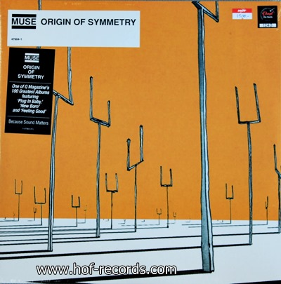 Muse - Origin Of Symmetry 2lp 2001 N.