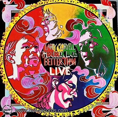 Larry Coryell - Better Than Live 1978 1lp