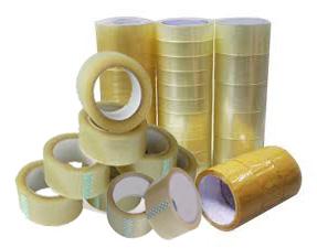 เทปกาว (OPP Tape) แบบขุน ขนาด 2 นิ้ว ยาว 45 หลา 1 ลัง (72 ม้วน)