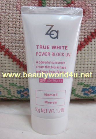 Za True White Power Block UV SPF40 PA+++ (ลดพิเศษ)
