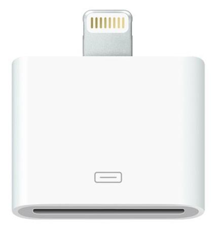 อะเดปเตอร์ตัวแปลงสัญญาณ Ipad Air,Iphone5/5c/5s เป็น Ipad 2 3, IPhone 4/4s -- 8pin to 30pin Adaptor