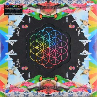 COLDPLAY - A HEAD FULL OF DREAMS 2LP N.