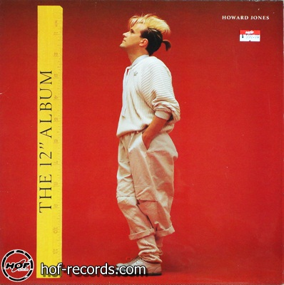 "Howard Jones - The 12"" Album 1lp"