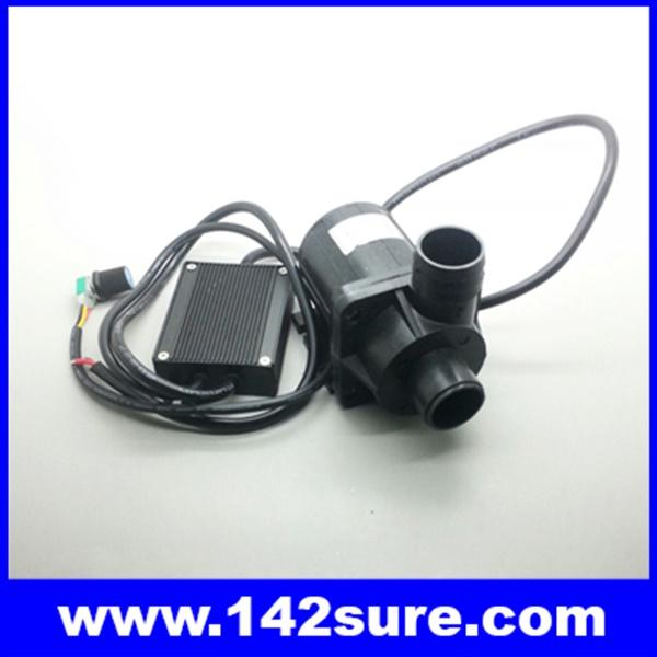 SOP030 ปั้มน้ำ โซล่าปั้มดีซี 3600ลิตรต่อชั่วโมง ปั๊มได้สูง 5 m. DC 24V water pump (แถมชุดปรับความเร็วรอบ รองรับการโปรแกรมแบบอนาล็อค)