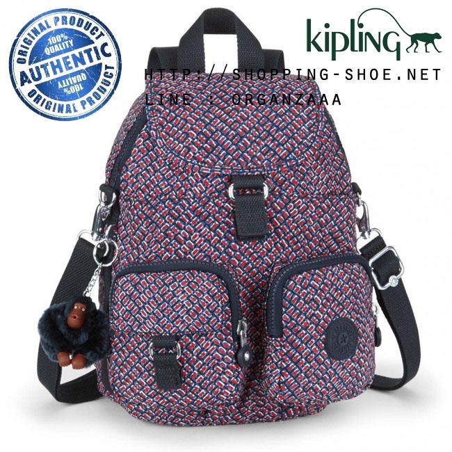 Kipling Firefly N Backpack - Mini Geo (Belgium)