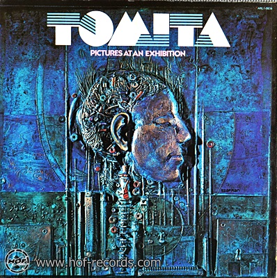 Tomita - Pictures At An Exhibition 1975 1lp