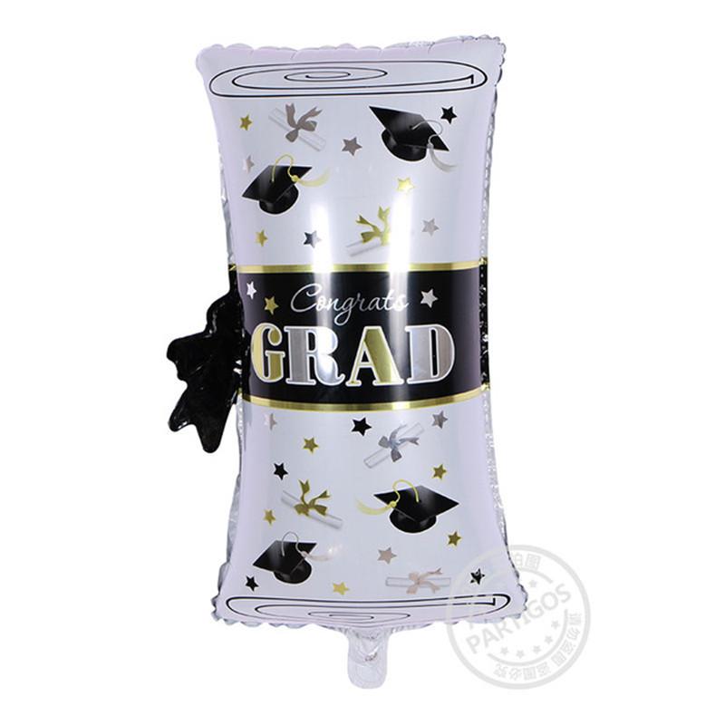 ลูกโป่งฟอยล์ใบประกาศนียบัตร Grad Certificate Foil Balloon ไซส์ 63*33 cm./Item No.TL-F015