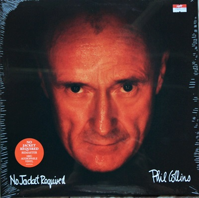 Phil Collins - No Jacket Requid 1Lp N.