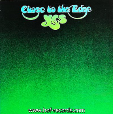 Yes - Close To The Edge 1972 1lp