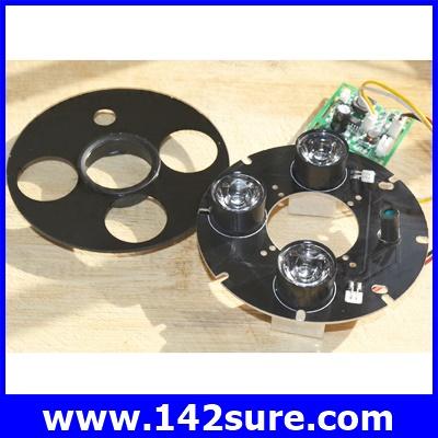CTV017 อินฟราเรด3 LEDs 45 Degree IR Infrared สำหรับกล้องวงจรปิดCCTV Camera