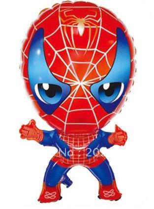 Spiderman Shape Balloon - ลายการ์ตูนสไปเดอร์แมน / Item No. TL-A004