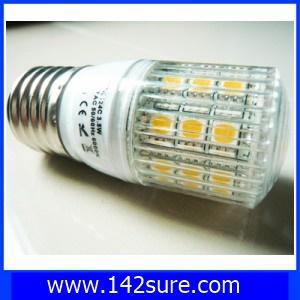 SMD106 หลอดไฟ LED E27-3124C SMD 3.8W 220V สีขาวอมเหลือง 3000K with cover8