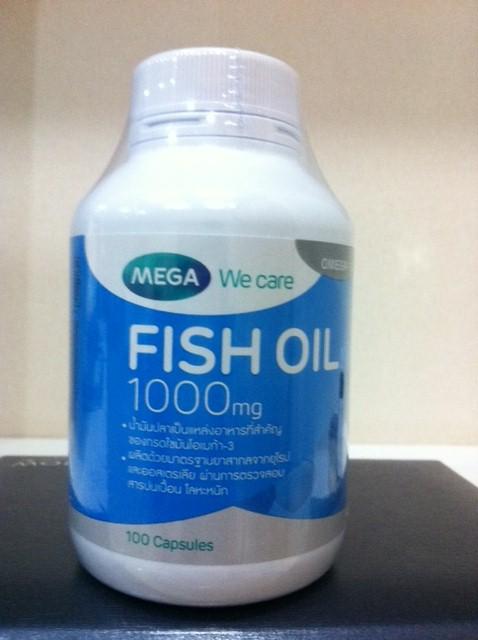 Mega We Care Fish Oil 1000 mg 100 Capsules