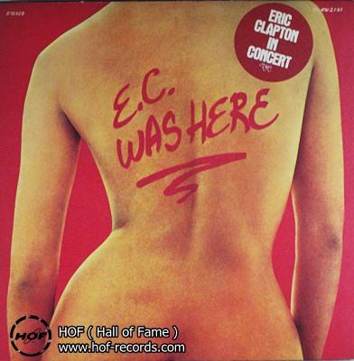 Eric Clapton - E.C. was here 1 LP