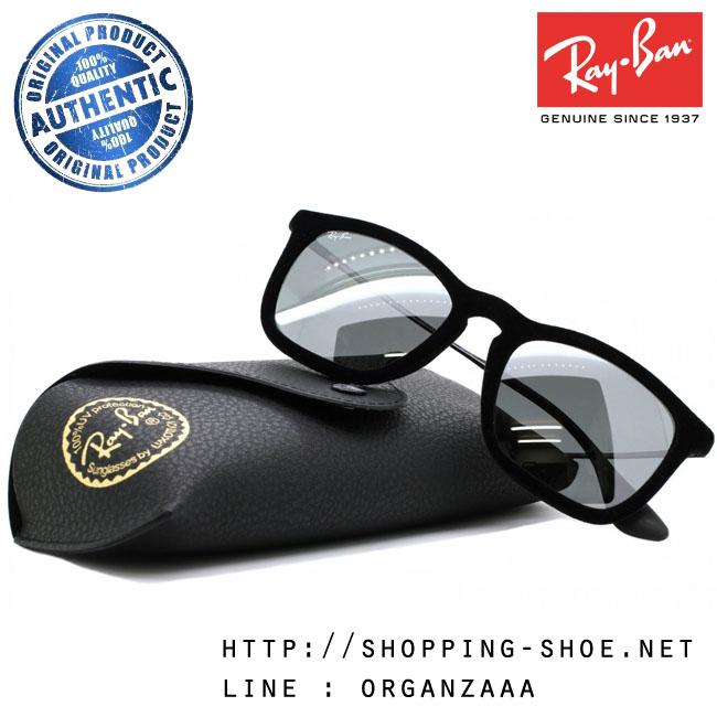 RayBan - RB4187 6075/6G Chris Velvet Black, 54 mm.