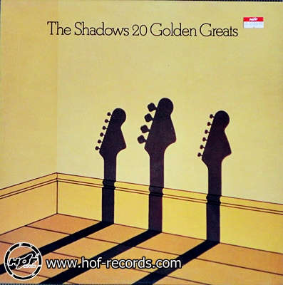 the shadows - 20 golden greats 1lp