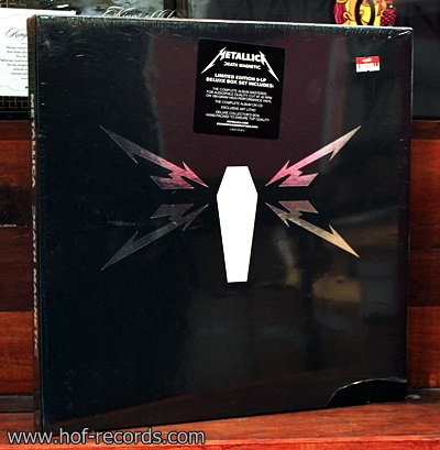 Metallica - Death Magnetic Boxset 5Lp N.
