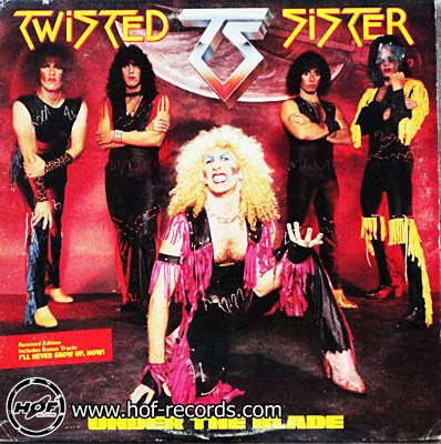 Twister Sister - Under the Blade 1 LP