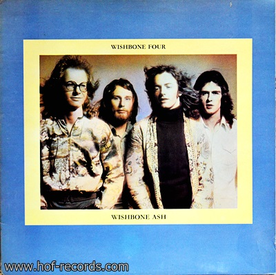 Wtshbone Ash - Wishbone Four 1Lp 1974