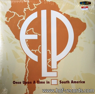 ELP - Once Upon A Time In South America 2Lp N.