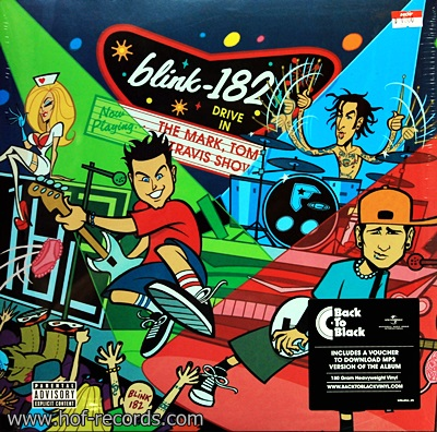 Blink 182 - The Mark, Tom Travis Show 2Lp N.