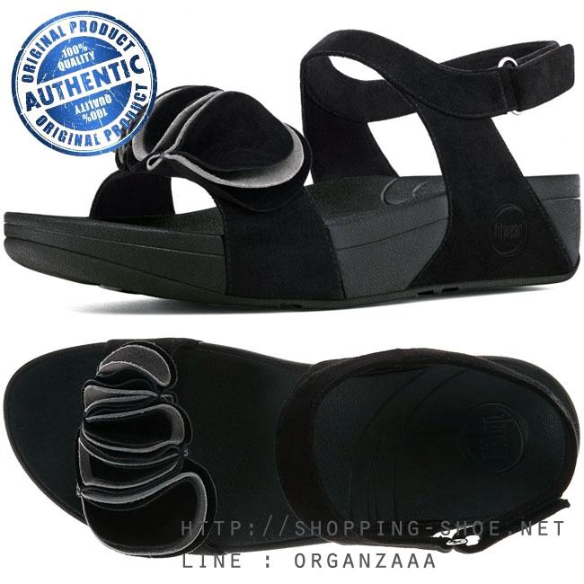 Fitflop Yoko Sandal Black / Fog ของแท้ นำเข้าจาก USA และ UK