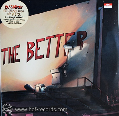 DJ Shadow - The better 2lp NEW