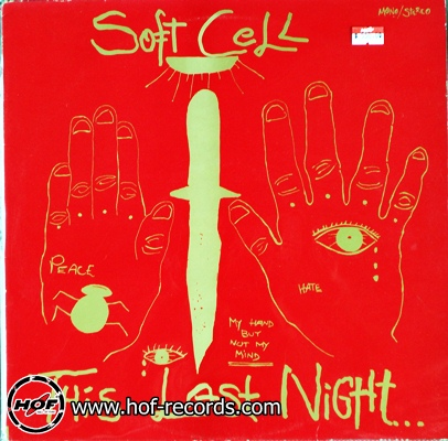 Soft Cell - This Last Night 1lp