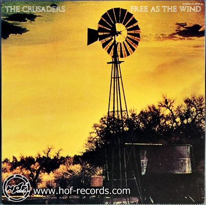 The Crusaders - Free as the wind 1 LP