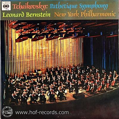 Leonard Bernstein New York Philharmonic - Tchaikovsky Pathetique Symphony 1lp