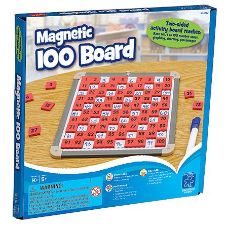ของเล่นเสริมพัฒนาการ ของเล่นเด็ก Magnetic 100 Board