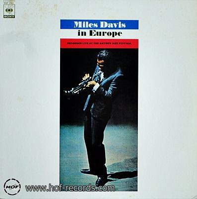 Miles Davis - In Europe 1lp
