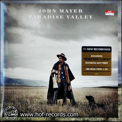 John Mayer - Paradise Valley 1lp NEW