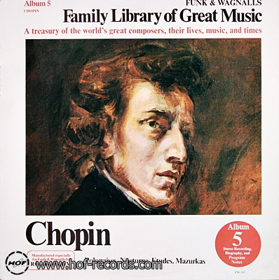 Family Library Of Great Music - Polonaises,Nocturne,Etudes,Mazurkas 1lp