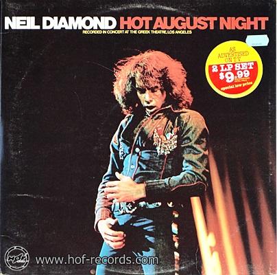Neil Diamond - Hot August Night 1972 2lp