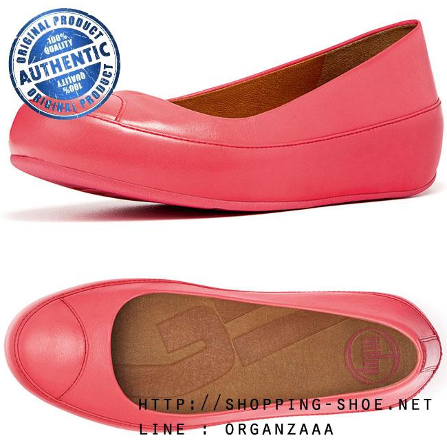 Fitflop Due Leather Punch Pink ของแท้ นำเข้าจาก USA และ UK