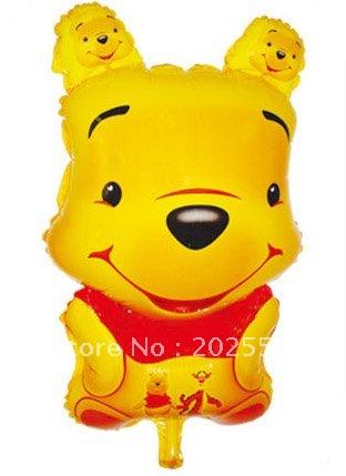 Winnie The Pooh Shape Balloon - ลายการ์ตูนหมีพลู / Item No. TL-A005