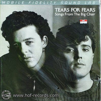 Tears For Fears - Songs From The Big Chair 2013 2lp ( NEW )