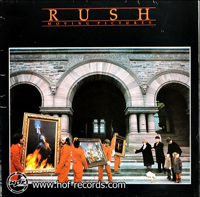 Rush - Moving Pictures 1981 1lp N.